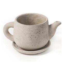 "Concrete ""Teapot"" Planter"