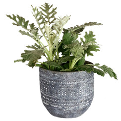 Aboriginal Small Concrete Planter