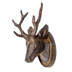 Cast Iron Mounted Buck