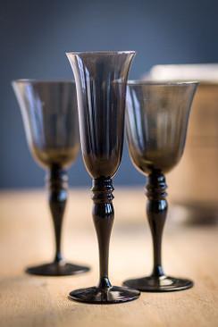 Champagne / Wine Glass in Smoke
