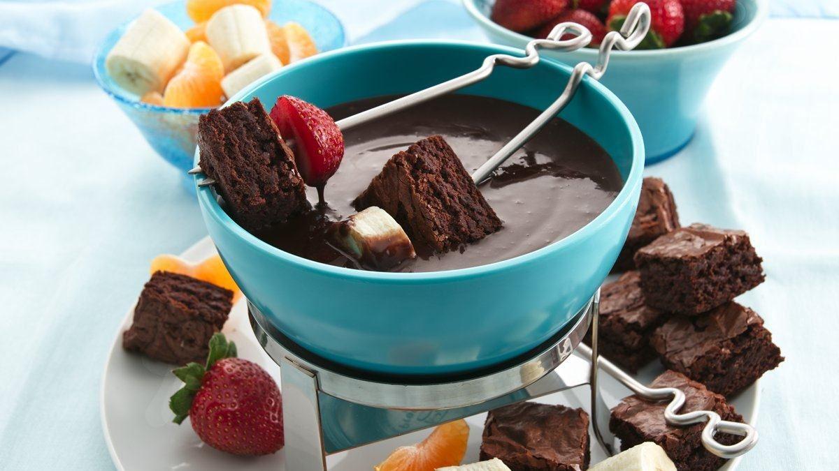 Gluten Free Chocolate Fondue