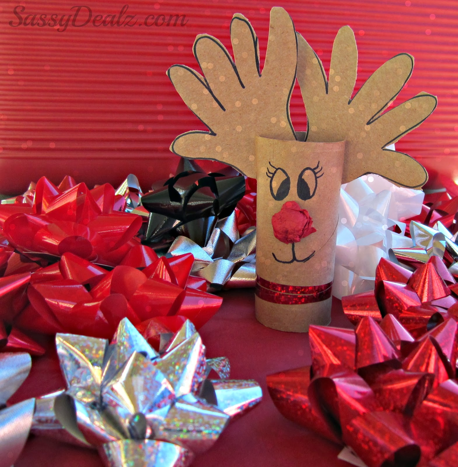TP Roll Reindeer Christmas Craft