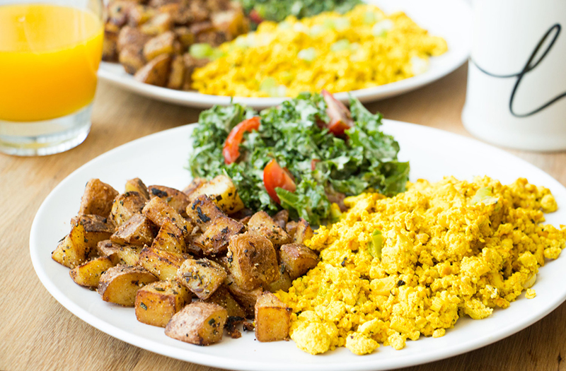 Vegan Breakfast Ideas, Perfect Tofu Scramble