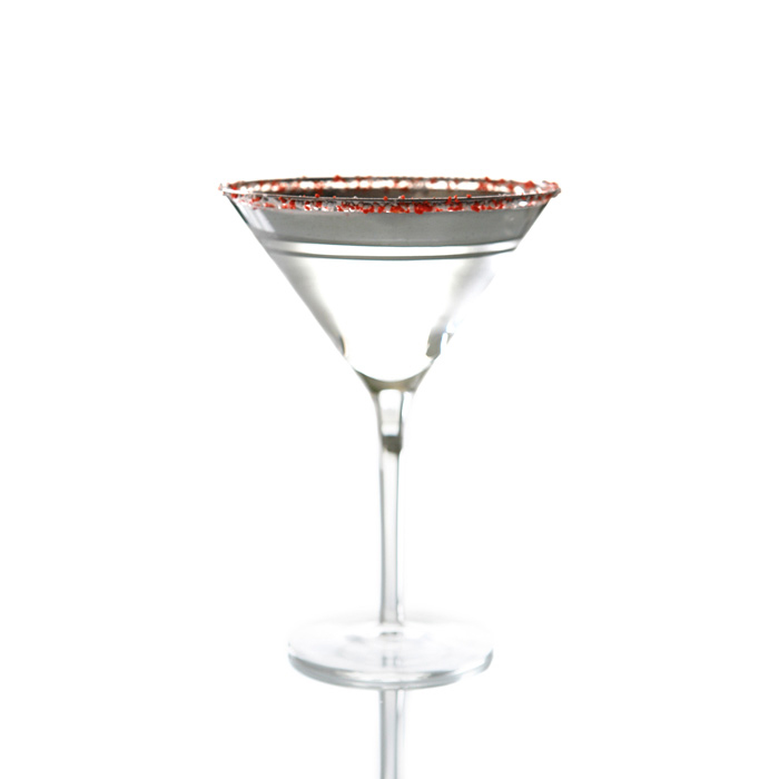 Peppermint Martini With Peppermint Infused Vodka