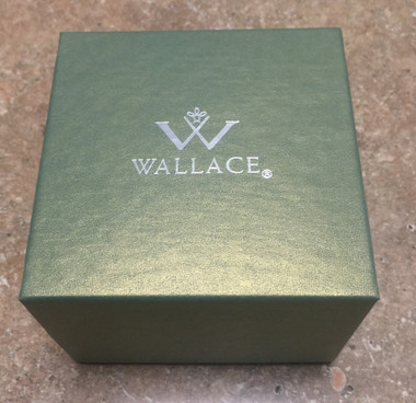 Wallace Empty Sleigh Bell Box in Green 12 Boxes per Set