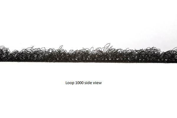 VELCRO® Brand sew on loop 1000 side view