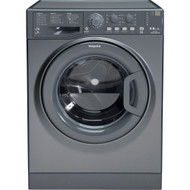 Hotpoint WDAL8640G 8Kg / 6Kg Washer Dryer with 1400 rpm - Graphite - A Rated - GRADED