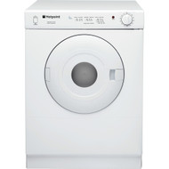Hotpoint V4D01P Vented Tumble Dryer - White - GRADED