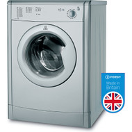 Indesit IDV75S Vented Tumbe Dryer - Silver - GRADED