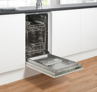 Belling IDW45 Slimline Integrated Dishwasher - Silver - GRADED