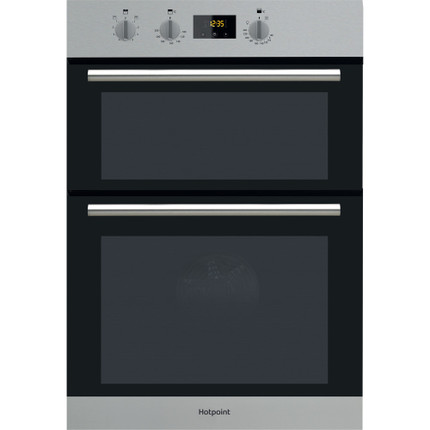 Hotpoint DD2 540 IX Electric Built-In Double Oven - Stainless Steel - A Rated - GRADED