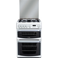 Cannon by Hotpoint CH60GCIW Gas Cooker with Variable Gas Grill - White - GRADED