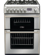 Cannon by Hotpoint CH60DPXFS Dual Fuel Cooker - Stainless Steel - GRADED