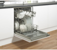 Belling IDW60 Full-size Integrated Dishwasher - GRADED