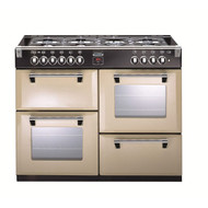 Stoves Richmond 1100GT 110cm Gas Range Cooker - Champagne/Cream - GRADED