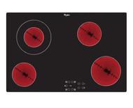 Whirlpool AKT 833/NE 80cm Electric Ceramic Hob  - Front Touch Control 4 Zone - Black - BRAND NEW