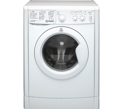 Indesit IWC81252ECO 8KG Washing Machine 1200 rpm - White - A++ Rated - GRADED