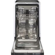 Stoves INTDW45 Fully Integrated Slimline Dishwasher - Black Control Panel - A++ Rated - BRAND NEW