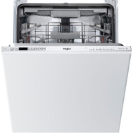 Whirlpool WIC3C23PEFUK Fully Integrated Standard Dishwasher - Silver Control Panel - A++ Rated - GRADED