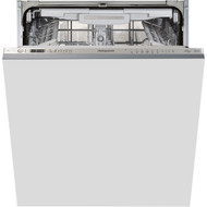 Hotpoint Ultima HIO3P23WLEUK Fully Integrated Standard Dishwasher - Stainless Steel Control Panel - A++ Rated - GRADED