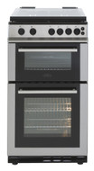 Belling FS50GTCL Gas Cooker with Full Width Gas Grill - Stainless Steel - A Rated - GRADED.