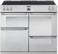 Stoves Sterling 1100Ei Electric Induction Range Cooker - Stainless Steel