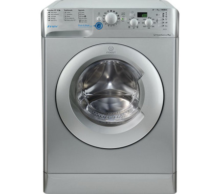 Indesit Innex BWD71453S 7Kg Washing Machine 1400 rpm - Silver - A+++ Rated -  GRADED
