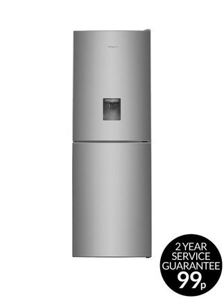 Hotpoint Day 1 XAL85T1IGWTD Frost-Free Fridge Freezer with Water Dispenser - Graphite - GRADED