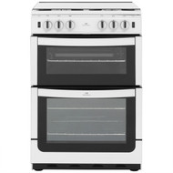 Newworld NW601GTCL Gas Cooker with Full Width Gas Grill - White - A Rated - GRADED