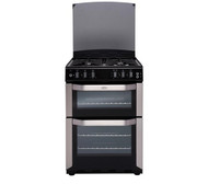 Belling FSDF60DOW Dual Fuel Cooker - Stainless Steel (GRADED)