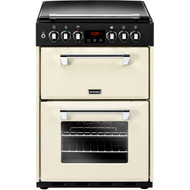 Stoves Richmond600DF Dual Fuel Cooker - Cream - A/A Rated - GRADED