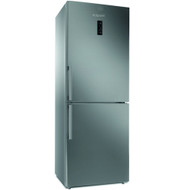 Hotpoint NFFUD191X 70cm Freestanding Frost Free Fridge Freezer - Silver - GRADED