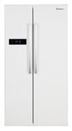 Lec AFF90185W American Fridge Freezer - White - A+ Rated - GRADED