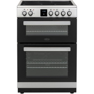 Belling FSE608DPc Electric Cooker with Ceramic Hob - Stainless Steel - A/A Rated - GRADED