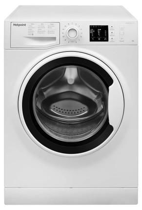 Hotpoint NM10 844 WW UK 8 kg 1400 Spin Washing Machine - White - GRADED