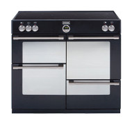 Stoves Sterling 1100Ei Electric Induction Range Cooker - Black - GRADED.