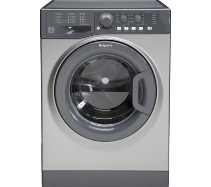 Hotpoint FML842G 8KG Washing Machine 1400 rpm - Graphite - A++ Rated - GRADED