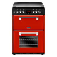Stoves Richmond600DF 60cm Dual Fuel Cooker - Hot Jalapeno - A/A Rated - GRADED.