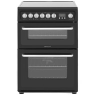 Hotpoint HARE60K Electric Cooker with Ceramic Hob - Black - B/ B Rated - BRAND NEW