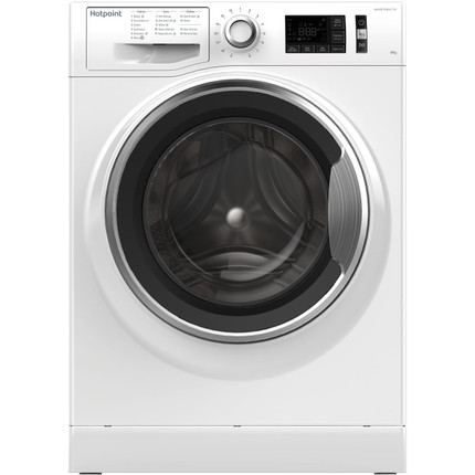 Hotpoint Active Care NM111065WCAUK 10Kg Washing Machine with 1600 rpm - White - A+++ Rated - GRADED