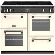 Stoves Richmond S1000Ei 100cm Electric Range Cooker with Induction Hob - Cream - A/A/A Rated - GRADED