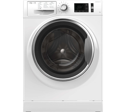 Hotpoint Active Care NM11 845 WC A UK 8 kg 1400 Spin Washing Machine - White - GRADED