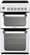 Hotpoint HUE52PS Electric Cooker - White