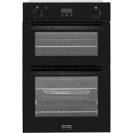 Stoves BI900EF Built In Double Oven - Black - A/B Rated - GRADED