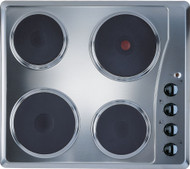 Indesit TI 60 X Electric Solid Plate Hob - Silver - GRADED