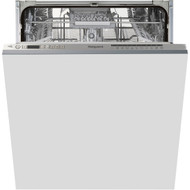Hotpoint Ultima HIO3C22WSCUK Fully Integrated Standard Dishwasher - Silver Control Panel with Fixed Door Fixing Kit - A++ Rated - GRADED