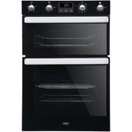 Belling BI902MFCT Built In Double Oven - Black - A/A Rated - GRADED.