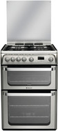 Hotpoint HUG61X Gas Cooker - Stainless Steel