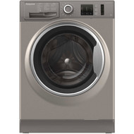 Hotpoint NM10844GSUK 8Kg Washing Machine with 1400 rpm - Graphite - A+++ Rated - GRADED