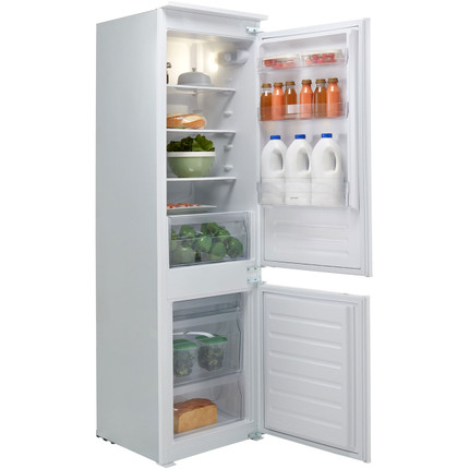 Indesit IB7030A1D.1 Integrated 70/30 Fridge Freezer with Sliding Door Fixing Kit - White - A+ Rated - GRADED
